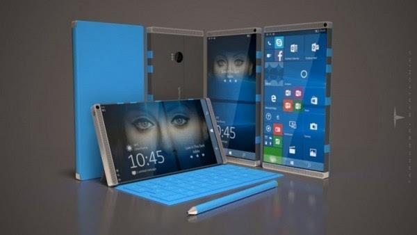 微软和硕开始试生产Surface智能手机的照片