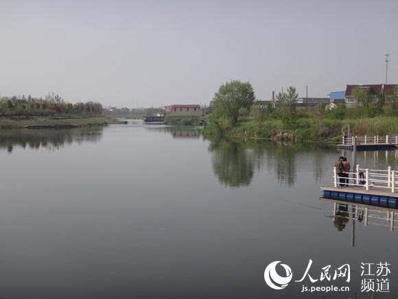 治理后的通榆河(东洲公园段)