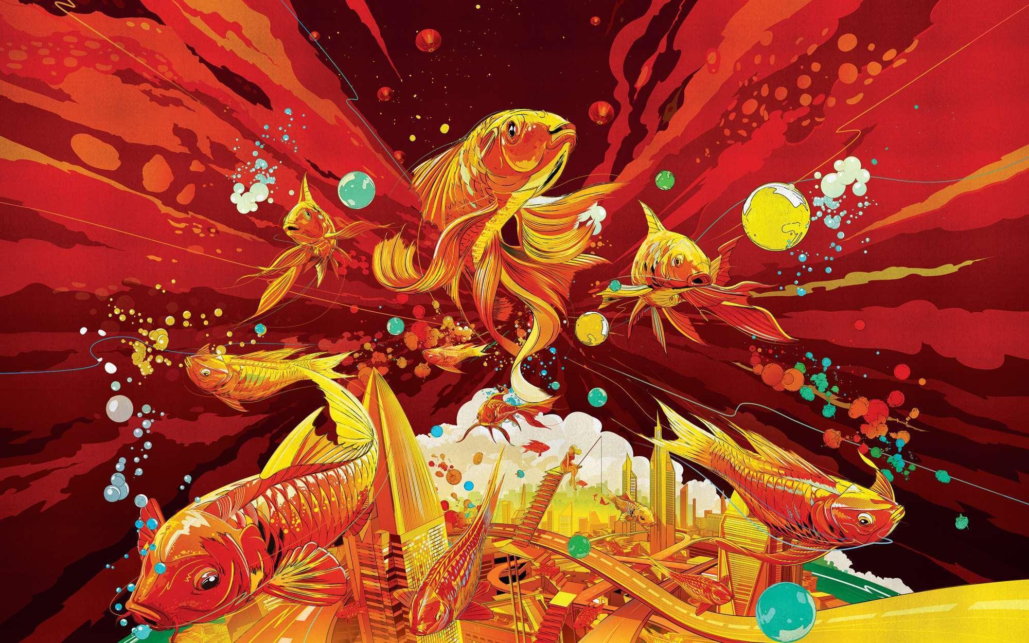 手机推销_惊艳中国风!苹果官网公布 2017 鸡年春节专属年画壁纸-搜狐