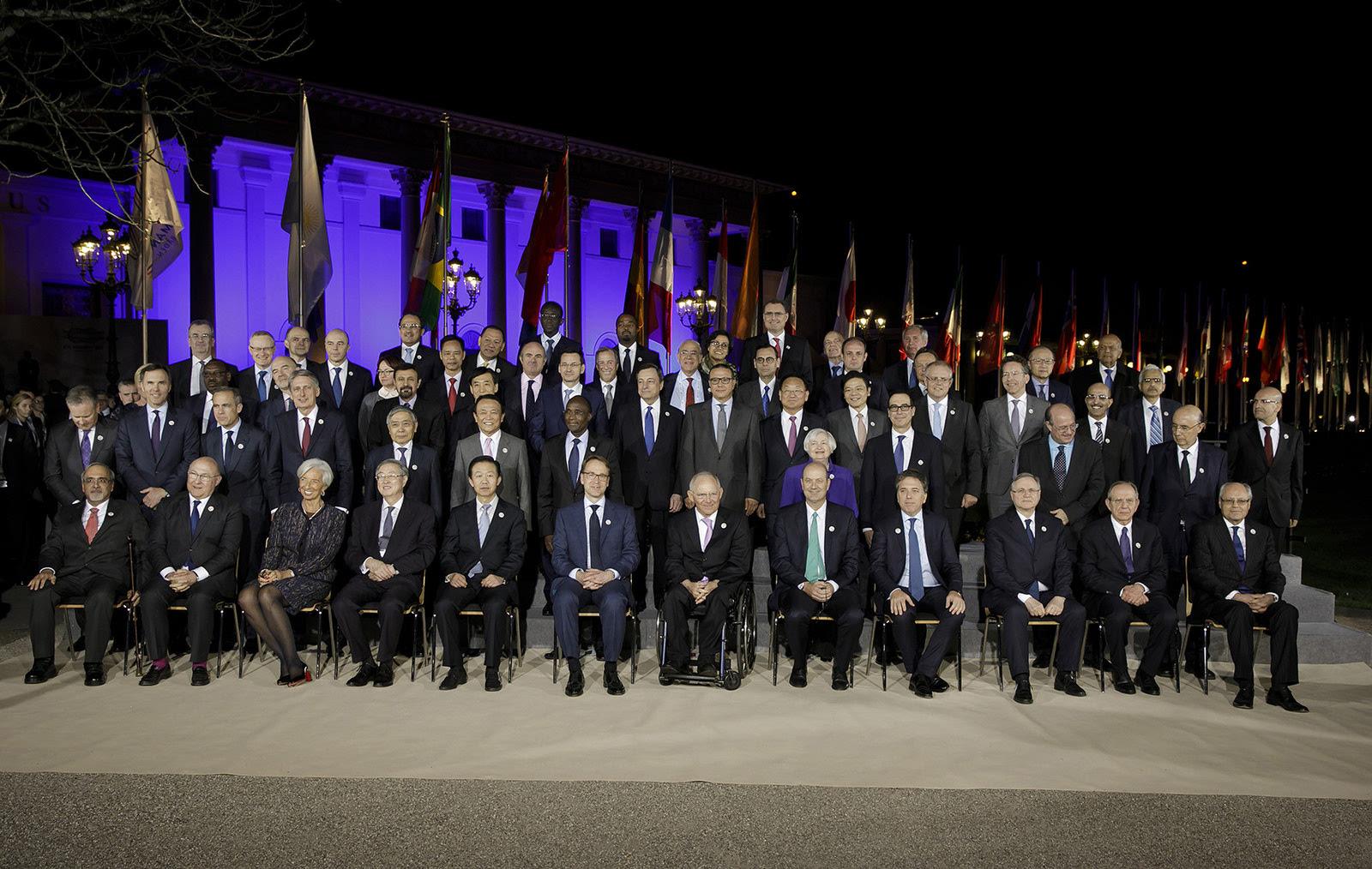 G20財長和央行行長會在德國閉幕中國呼吁反對保護主義