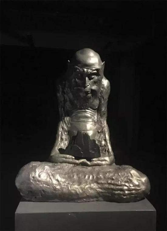 五台山殊像寺主持_雕塑艺术风采汇 中国当代佛教艺术展