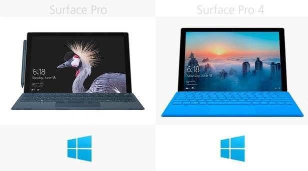 都有那些升级?前后两代Surface Pro规格参数对比的照片 - 16