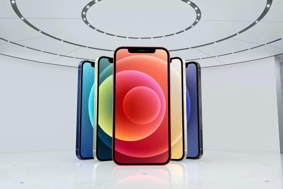 苹果发布iPhone 12 更轻更薄 内置A14 Bionic芯片 支持5G的照片 - 2