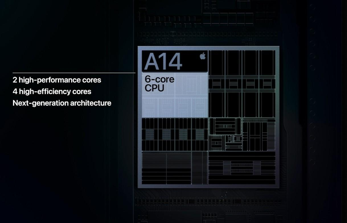 苹果发布iPhone 12 更轻更薄 内置A14 Bionic芯片 支持5G的照片 - 10