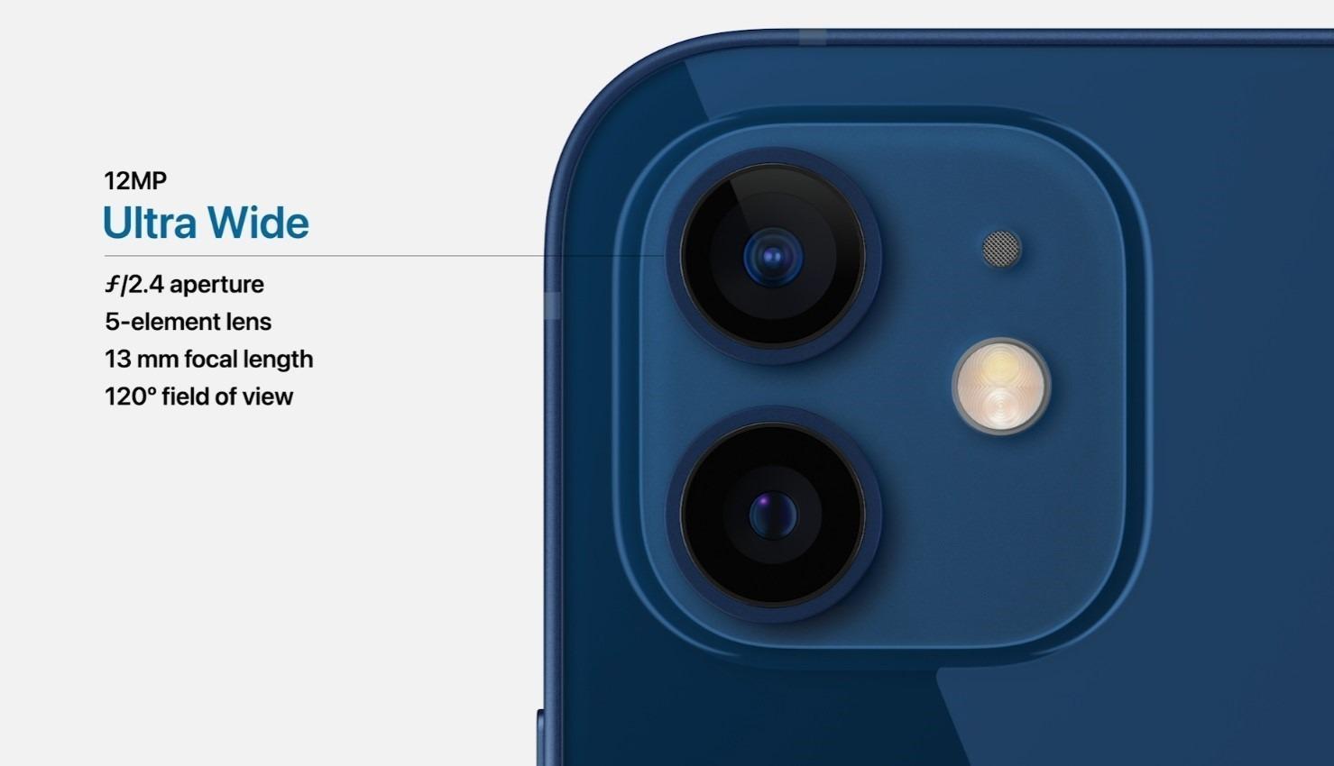 苹果发布iPhone 12 更轻更薄 内置A14 Bionic芯片 支持5G的照片 - 16