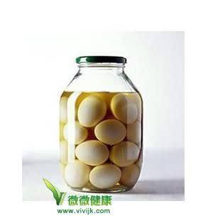 子醋的功效与作用_醋泡蛋的功效与作用