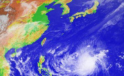 洋面上已出现新的双台风形势