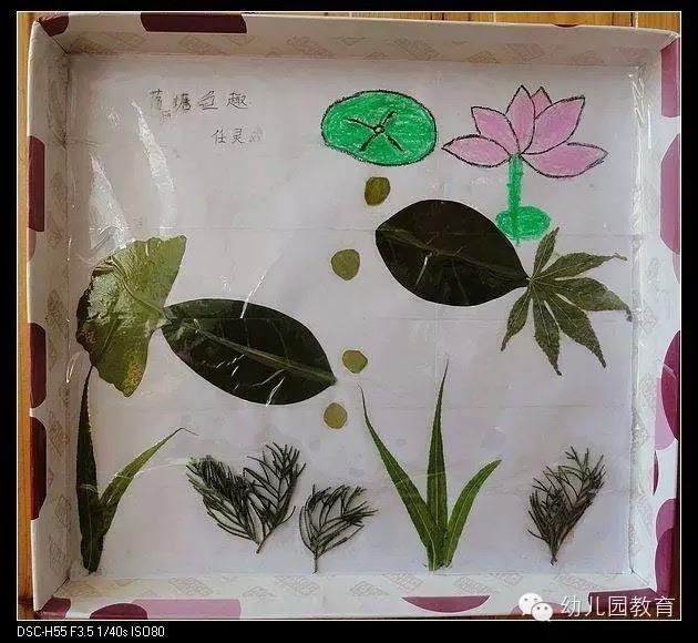 幼儿园手工树叶粘贴_幼儿园树叶粘贴画手工创意DIY制作大全(太美了)-搜狐