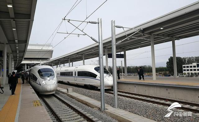 鲁南高铁运行试验首班列车开跑,下月青岛2小时到临沂(二)